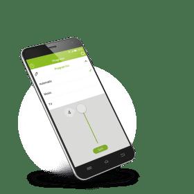Régler le volume des appareils auditifs depuis un mobile